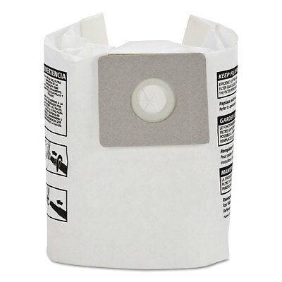Shop-Vac Disposable Collection Filter Bags, Fits 2-2.5 gallon Tanks, 3/Pack