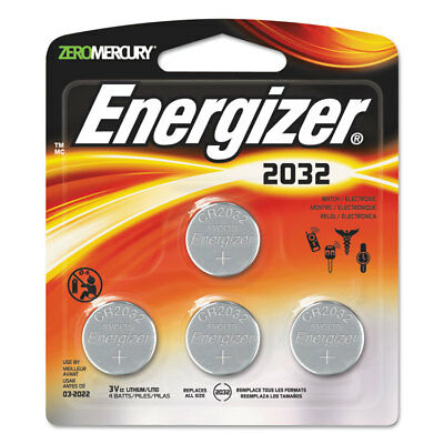 Energizer Watch/Electronic/Specialty Battery 2032 3V 4/Pack 2032BP4