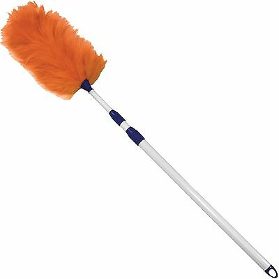 "Impact Lambswool Duster Twist/Lock 33-60"" White 3106"