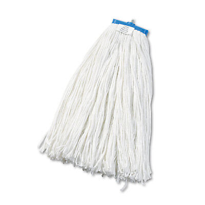 Boardwalk Cut-End Lie-Flat Wet Mop Head Rayon 24oz White 12/Carton 724RCT