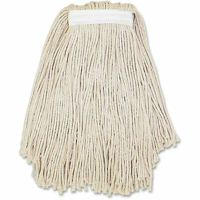 Genuine Joe Cut End Cotton Wet Mop No. 24 12/CT Natural N24COTCT