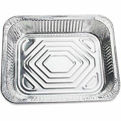 "Genuine Joe Disposable Aluminum Pan 1/2"" 128oz Cap 100/CT SR 10702"