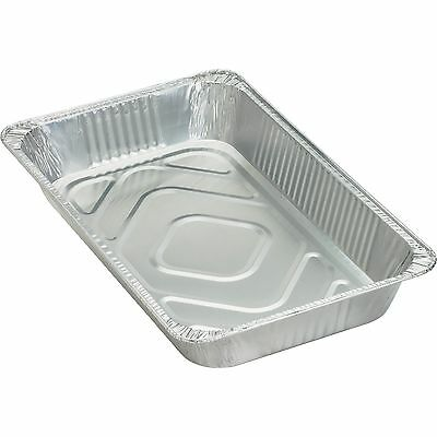 Genuine Joe Disposable Aluminum Pan Full-Size 280 oz. Cap 50/CT SR 10703
