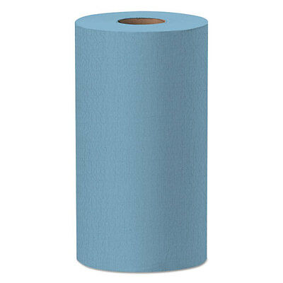WypAll X60 Wipers Small Roll 9 4/5 x 13 2/5 Blue 130/Roll 35411