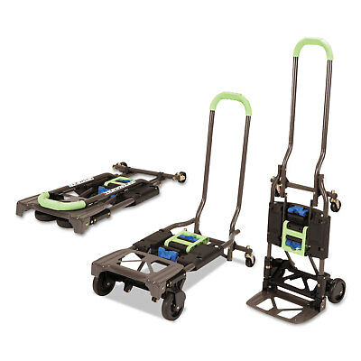 Cosco 2-in-1 Multi-Position Hand Truck and Cart 16 5/8 x 12 3/4 x 49 1/4 Blue