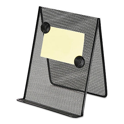 Universal Metal Mesh Document Holder 9 x 8 5/8 x 11 3/8 Free Standing Black