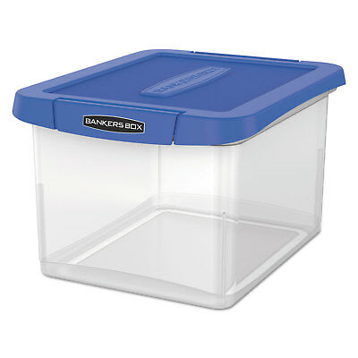 Bankers Box Heavy Duty Plastic File Storage 14 1/8 x 17 2/5 x 10 3/5 Clear