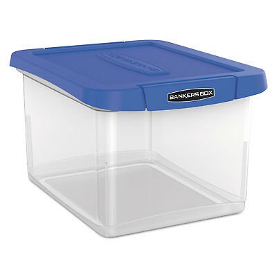 Bankers Box Heavy Duty Plastic File Storage 14 1/4 x 8 3/5x 11 Clear 0086301
