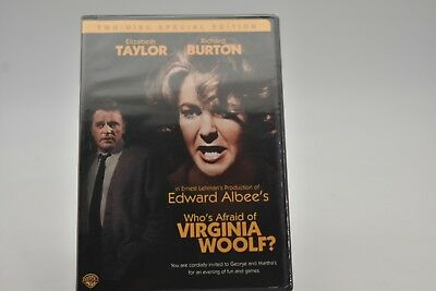 Whos Afraid of Virginia Woolf Special Edition DVD