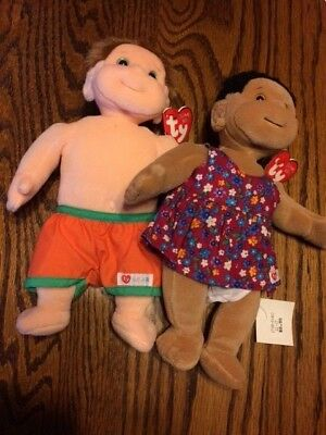 a5510bb5f74 TY BEANIE KIDS Plush Toy Lot (New with Tags Mint) Boomer Precious ...