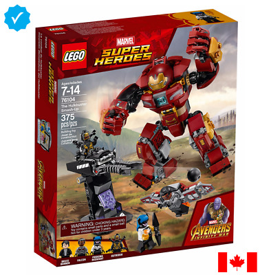 LEGO MARVEL: The Hulkbuster Smash-Up 76104 (TOP HOLIDAY TOY)