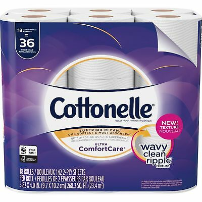 Cottonelle Bath Tissue Ultra ComfortCare 18/PK White 48620