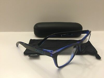 e2672a698a Oakley Rx Frogskin Authentic Glasses Eclipse Blue (Sample) 54-17-138 Ox8131