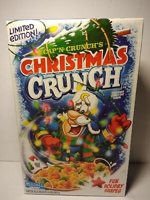 Christmas Crunch Cereal.Cap N Crunch Breakfast Cereal Christmas Crunch 18 6 Oz Limited Edition