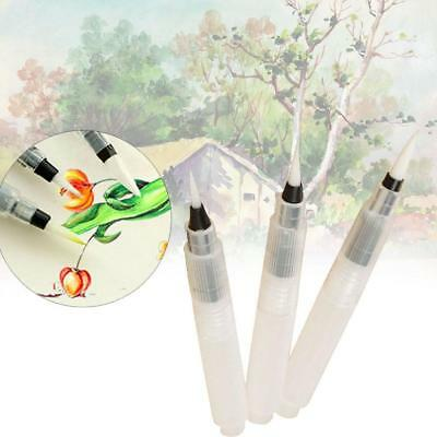 3pcs Pilot Ink Pen for Water Brush Watercolor Calligraphy Painting Tool Set  JS