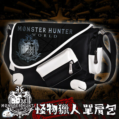 7c8d307edb Anime Monster Hunter Satchel Canvas Unisex Cosplay Shoulder Bag Messenger  Bag