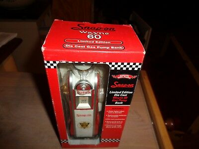 Snap-On Wayne 60 Limited Edition Die Cast Gas Pump Bank