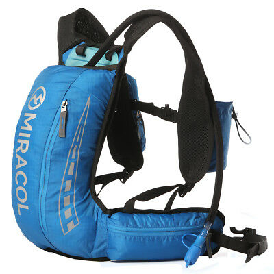 MIRACOL Hydration Backpack Lightweight Pack with 2L BPA FREE Bladder