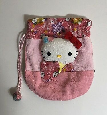 Hello Kitty Sanrio Small Bag With Draw String