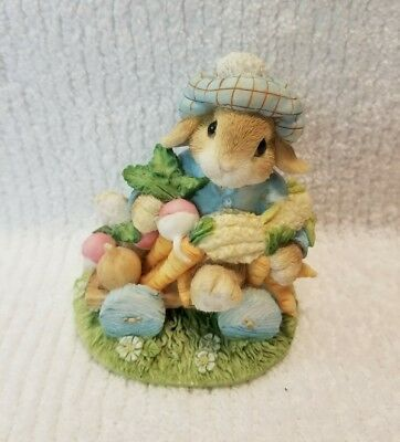 "VINTAGE 1995 Blushing Bunnies ""An Abundance of Blessings"" NEW SO CUTE FREE SHIP"
