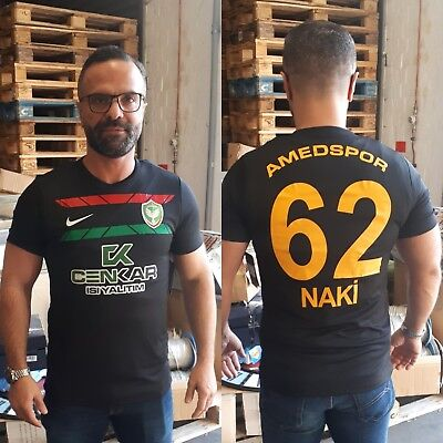 recognized brands where to buy multiple colors AMEDSPOR TRIKOT DENIZ NAKI 62 Kurdistan schwarz S L XL AZADI ...
