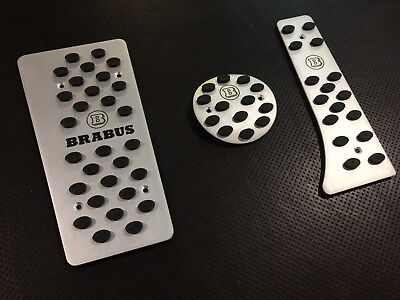 Pedals  set for Smart 451 brabus 2007-2014