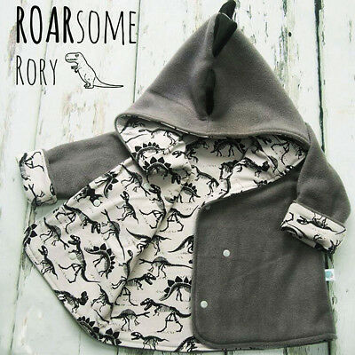 AU Toddler Baby Kids Boy Girl Infant Clothes Hooded Top Shirt Jacket Coat Outfit