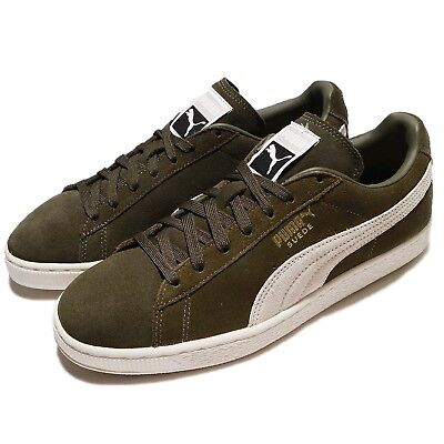 Puma Suede Classic Low Olive Night Birch Suede Men Retro Shoes Sneaker  36324-227 604b019ad