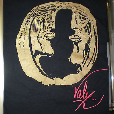 Originale Independent Artista Designer Philippe Valy Face To T-shirt S M L XL