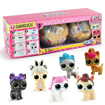 Pet Blind Mystery Toys HOT LOL Lil Outrageous 5 Layers Surprise Ball Series 3