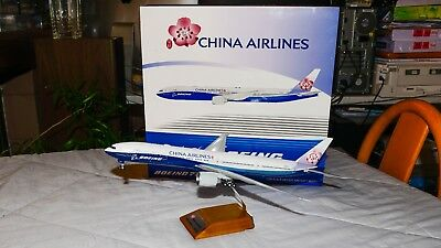 "Maquette 1/200 China Airlines ""couleurs Dreamliner"" B777-300 Jc Wings Lh2008"