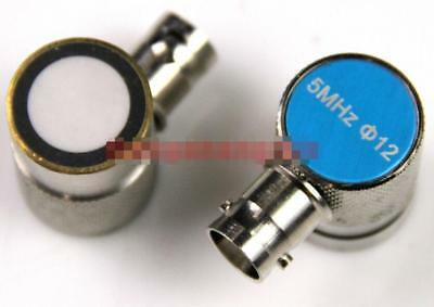 New 1PC for Ultrasonic Flaw Detector Probe Sensor Transducer 5MHz 12mm