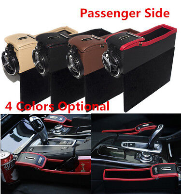 Car Front RH Storage Box&Console Side Pocket Coin Phone Organizer/Cup Holder AMS