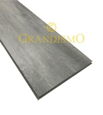 Grandismo® --SAMPLES-- Click Vinyl Flooring LVT in Grey / White / Brown Fawn