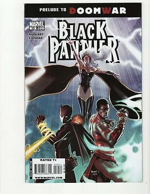 Black Panther #10 1st print SHURI VF/NM 2009 unsold store stock