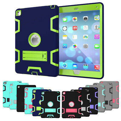 """Shockproof Case Kids Heavy Stand Cover for iPad 2/3/4 Mini Air 9.7"""" 2018 6th Gen"""