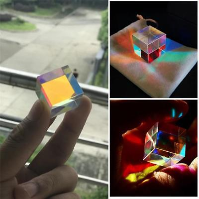Optical Glass X-cube Dichroic Cube Prism RGB Combiner Splitter 0.6inch HAO