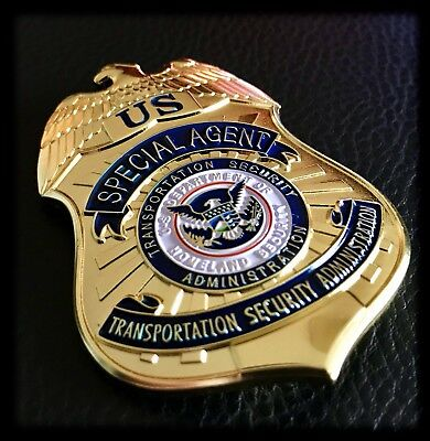 Historisches US Police Badge: TSA ✪ SPECIAL AGENT ✪ DHS ✪ Sky Marshal ✪ Homeland