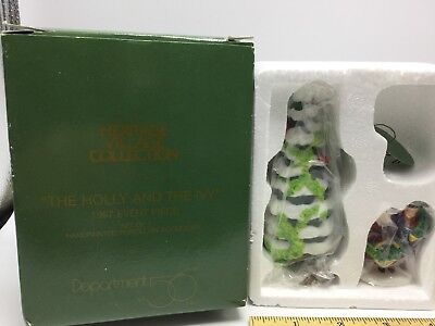DEPT 56 Heritage Dickens Village THE HOLLY AND THE IVY 1997 Event Piece MINT