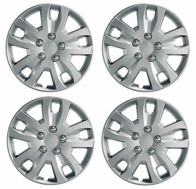 "Set of 4 Wheel Trims Hub Caps 15"" Covers fits  Vauxhall Astra H Corsa D"