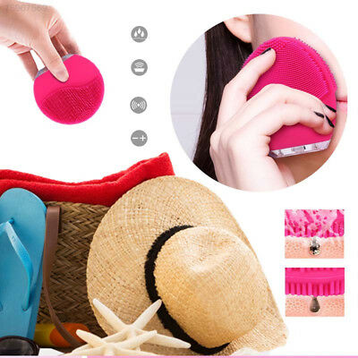 7C77 Effective Silicone Electric Cleanser Face Cleansing Brush Pore Mini Face