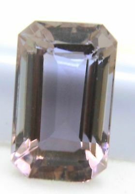 8.95 CT GGL Certified Emerald Cut Brazilian Alexandrite Color Changing Gemstone