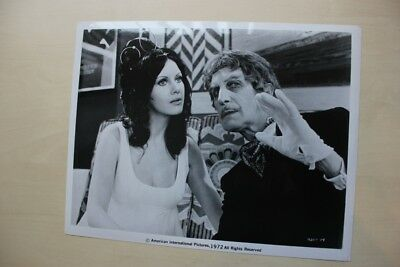 Dr. Phibes Rises Again - Vincent Price & Valli Kemp- Vintage Still With Snype #2