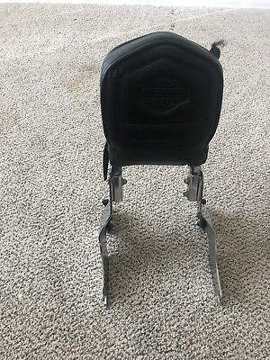 Harley Davidson Detachable Sissy Bar With Backrest And Luggage Rack, Touring