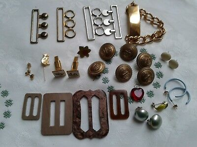 A Job Lot Of Vintage Jewellery For Wear