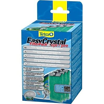 Tetra Easycrystal Filterpack C 250/300 3 Cartouches Au Charbon Actif (329992)