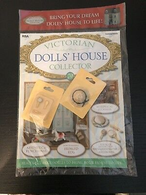 Victiorian Dolls House Collector Issue 70 Hat And Dressing Table Set