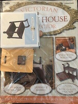 Victiorian Dolls House Collector Issue 44 Trolley And Box Cigars