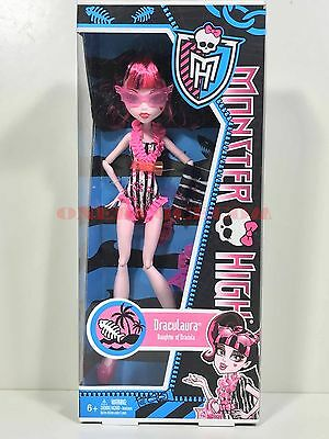 Monster High Doll Swim Class Draculaura New in Box Retired