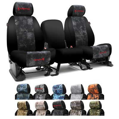 COVERKING KRYPTEK CAMO CUSTOM FIT SEAT COVERS for NISSAN FRONTIER